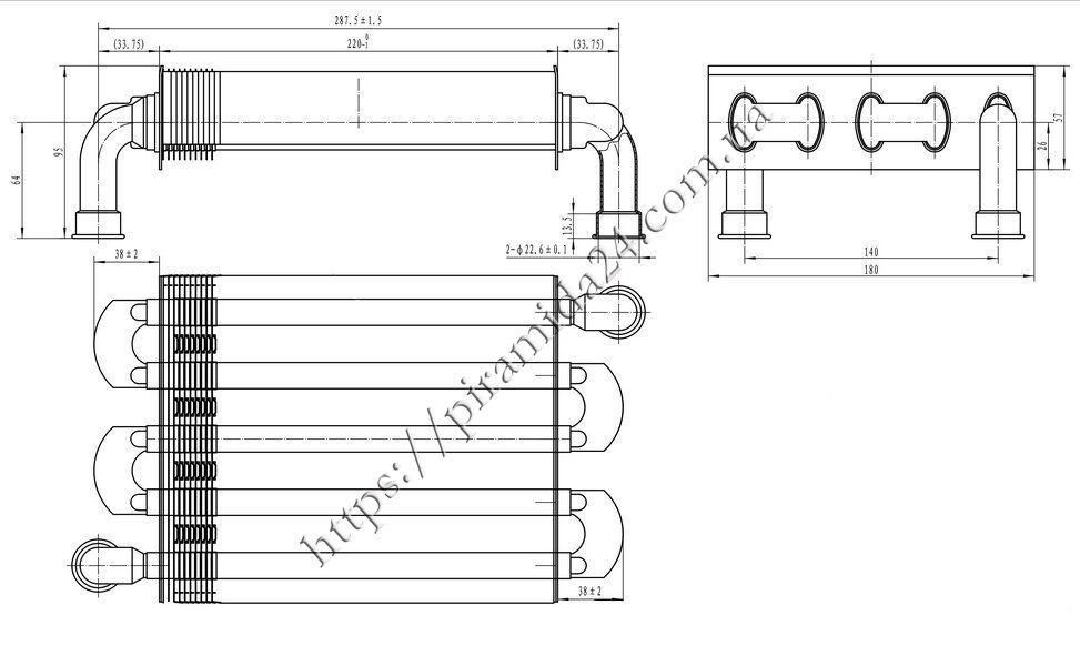 Теплообмінник первинний Protherm Lynx HK 11 24 90a99280d02c9
