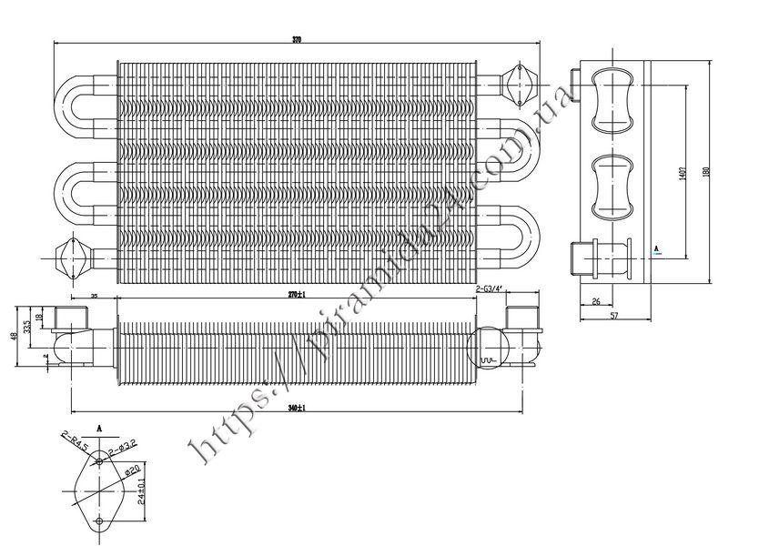 Теплообмінник первинний Ariston Microgenus 23 MI 5fdaca8482e47