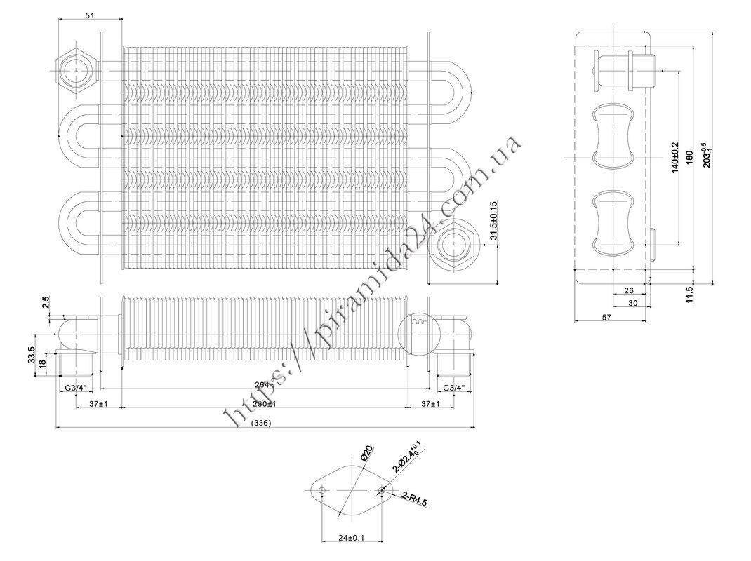 Схема подключения илт4-30м